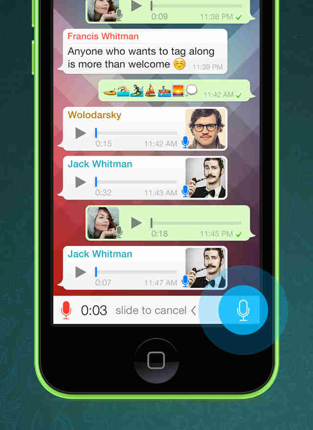 how to know whatsapp message read