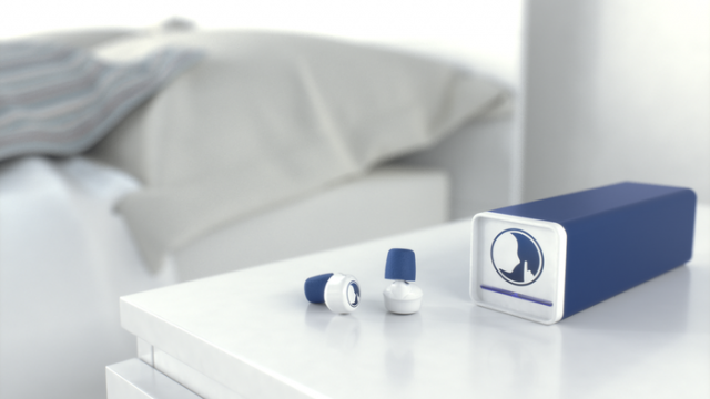 Say hello to Hush, the world's first smart earplugs