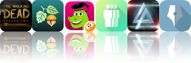 Today's apps gone free: Walking Dead, Focus on Plant, SpeakaLegend and more