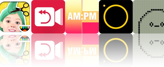 Today's apps gone free: Toca Hair Salon Me, Reverser, Coloring Clock and more