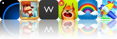 Today's apps gone free: Circadia, LostWinds, Writedown and more