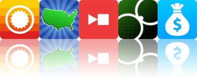 Today's apps gone free: ClearWeather, Geography Duel, Captune and more