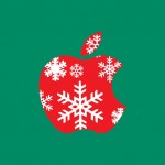 Apple retail stores are getting into the holiday spirit