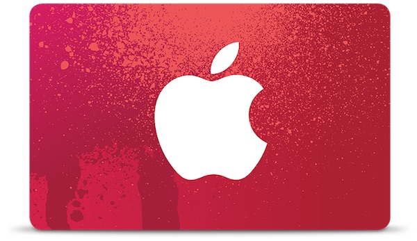 Apple to offer special (RED) gift cards on Black Friday on some purchases