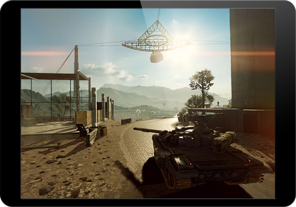 Frostbite demos Battlefield 4 running on an iPad, thanks to Apple's Metal API