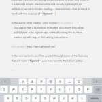 Popular text editor Byword updated with support for Handoff, iCloud Drive and more