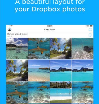 Carousel by Dropbox goes universal for the iPad, adds support for Instagram and WhatsApp