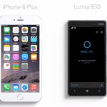 Microsoft's new Cortana ad says Siri 'just got bigger' on iPhone 6 Plus