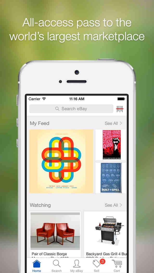 Updated eBay app for iOS includes new features for sellers and shoppers