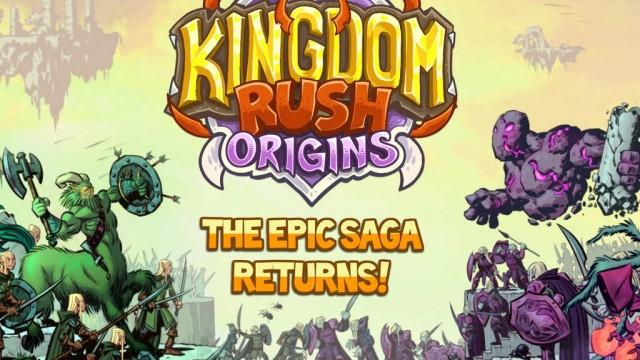 Kingdom Rush Origins rushes to iOS featuring new prequel tower defense adventure