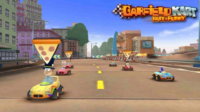Garfield Kart racing game gets Fast & Furry free-to-play follow-up