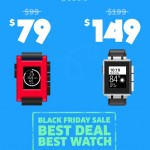 Get a Pebble smart watch on Black Friday sale for as low as $79