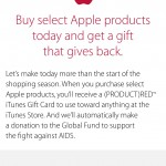 Apple's Black Friday deals go live with Product (RED) iTunes gift cards