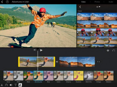 Apple updates iMovie for iOS with support for iCloud Photo Library