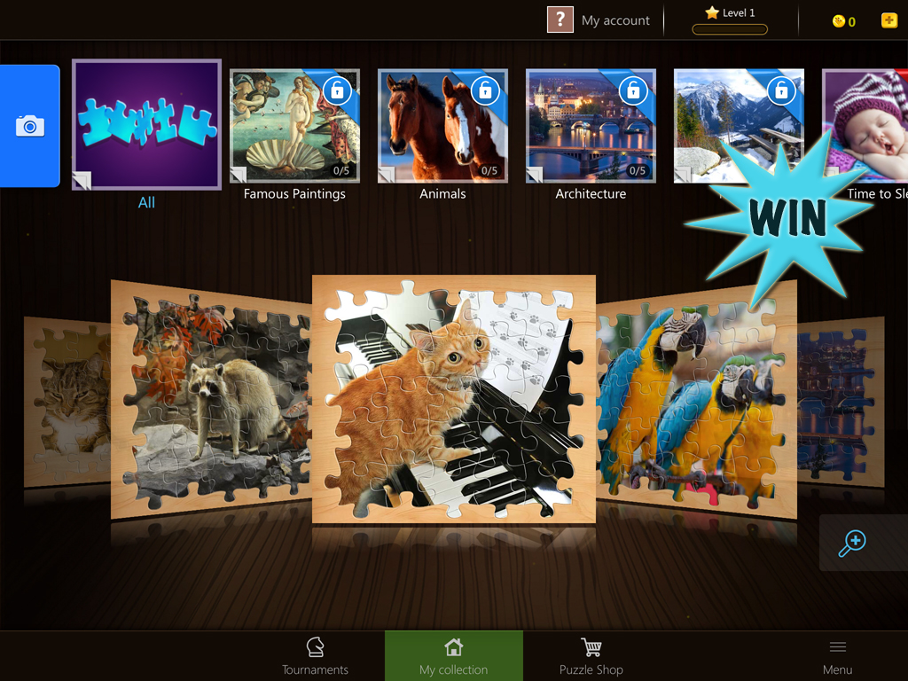 Complete Magic Jigsaw Puzzles for a chance to win an expansion pack