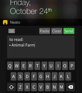 Apple threatens to pull another handy Notification Center widget, Neato