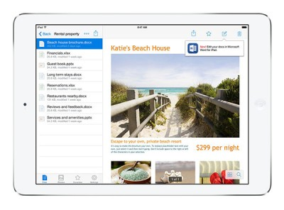 Microsoft, Dropbox partner to bring new features to Office for iOS