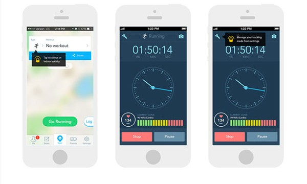 RunKeeper update makes tracking your exercise indoors easy with the Stopwatch Mode