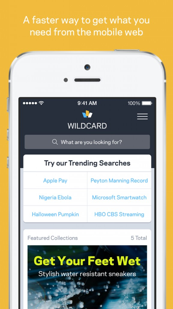 Wildcard is a refreshing new way to browse the mobile Web
