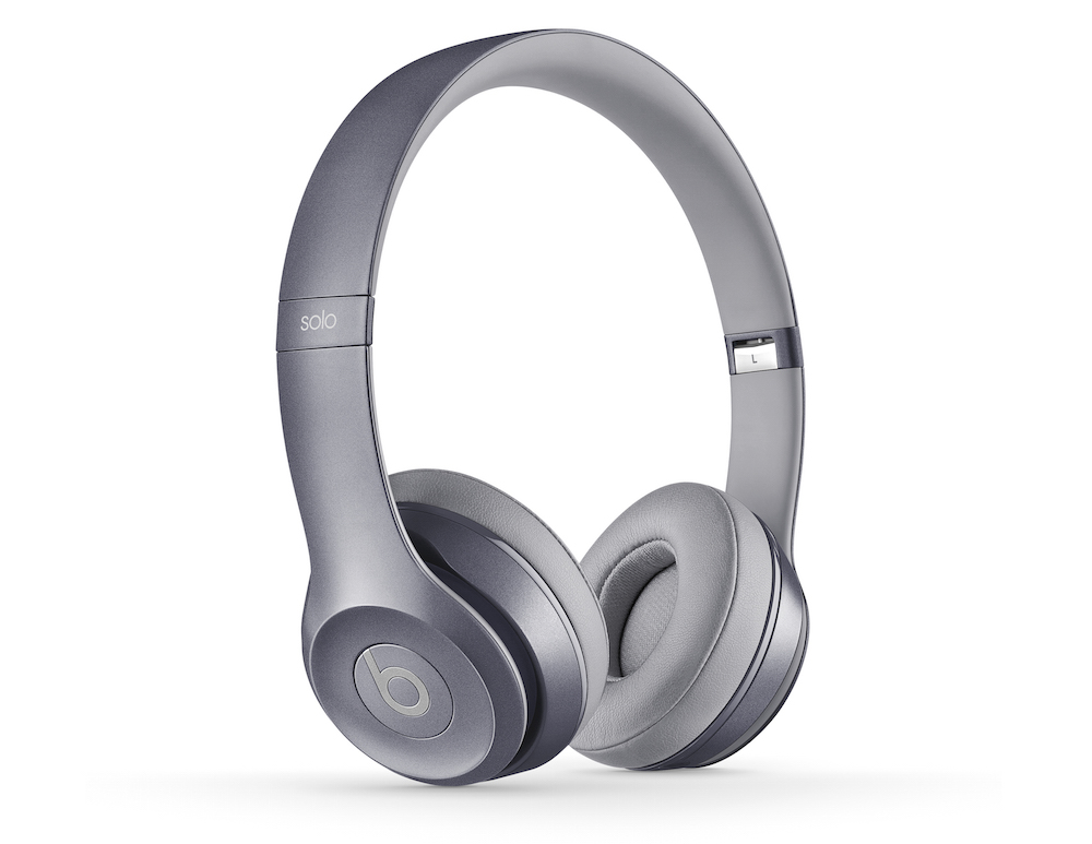 Solo2 wired headphone in stone gray