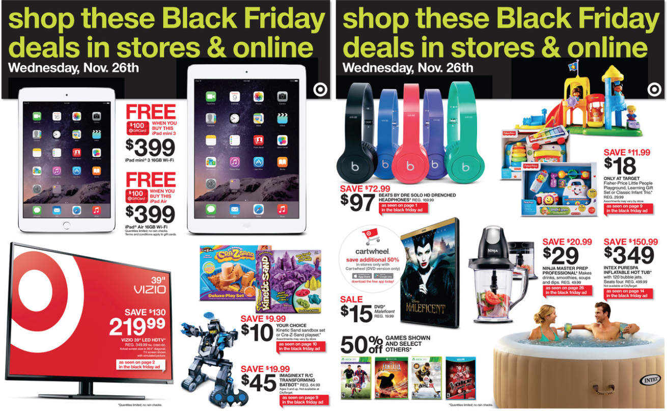 Target announces pre-Black Friday deals on Apple and Beats products