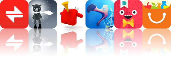 Today's apps gone free: Vert, Penumbear, Playing Carl and more