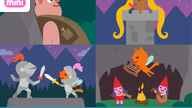 Sago Mini Fairy Tales features hidden surprises and wonderful delights for kids