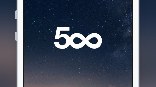 Official 500px app for iOS updated with built-in camera and photo-editing tools