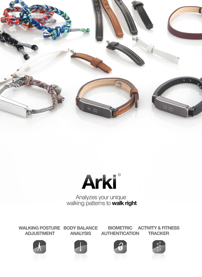 Don't tell Fitbit, but Arki wants to be your next fitness tracker