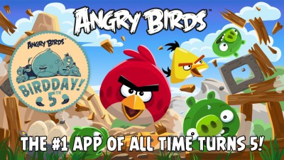Rovio celebrates Angry Birds' 5th BirdDay with new levels inspired by fan art