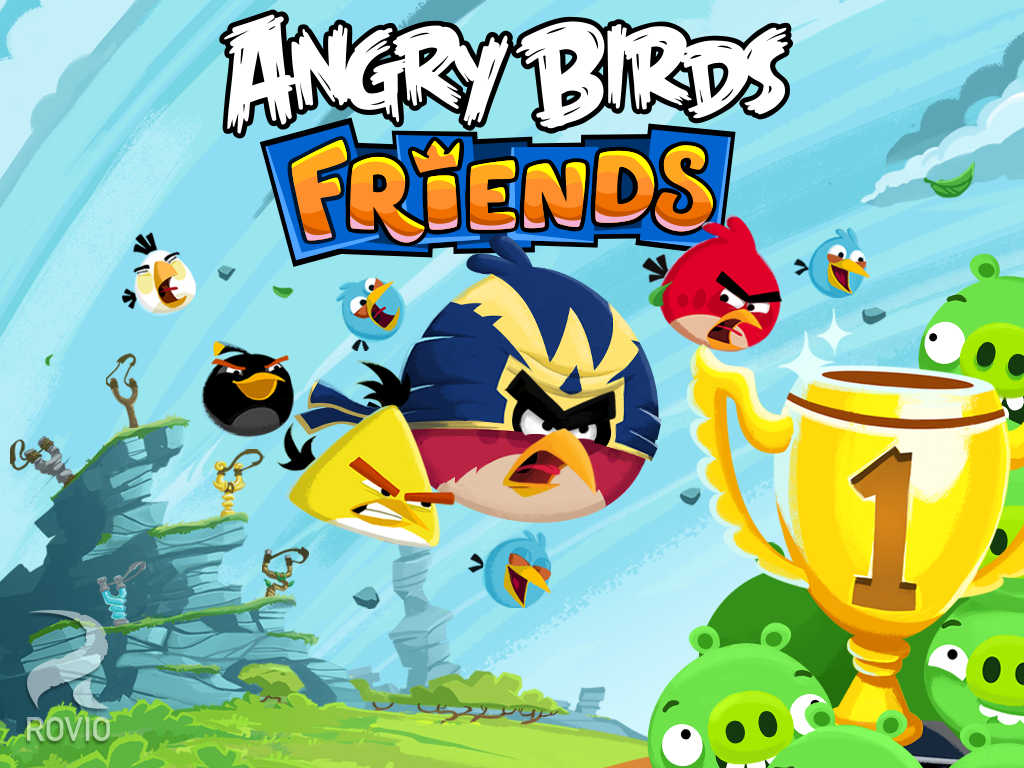 This season, Rovio presents three holiday tournaments in Angry Birds Friends