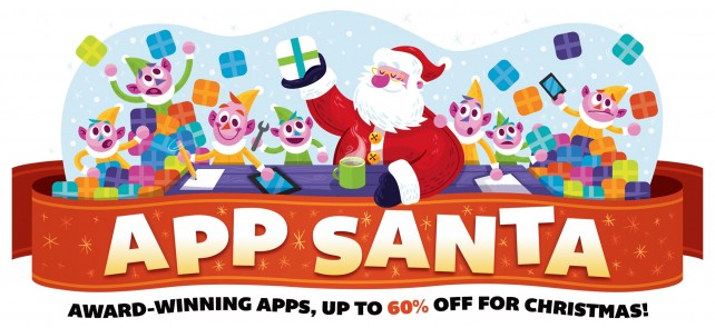 It's the last day for App Santa, get these terrific iOS and Mac apps at awesome prices