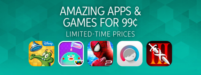 Get these 'amazing' apps and games on holiday sale for just $0.99 each on the App Store