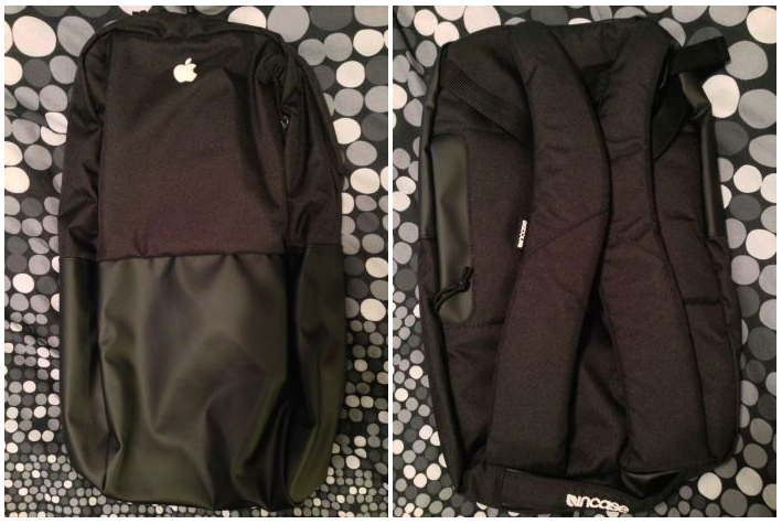 Apple's special holiday gift to employees is a customized Incase backpack