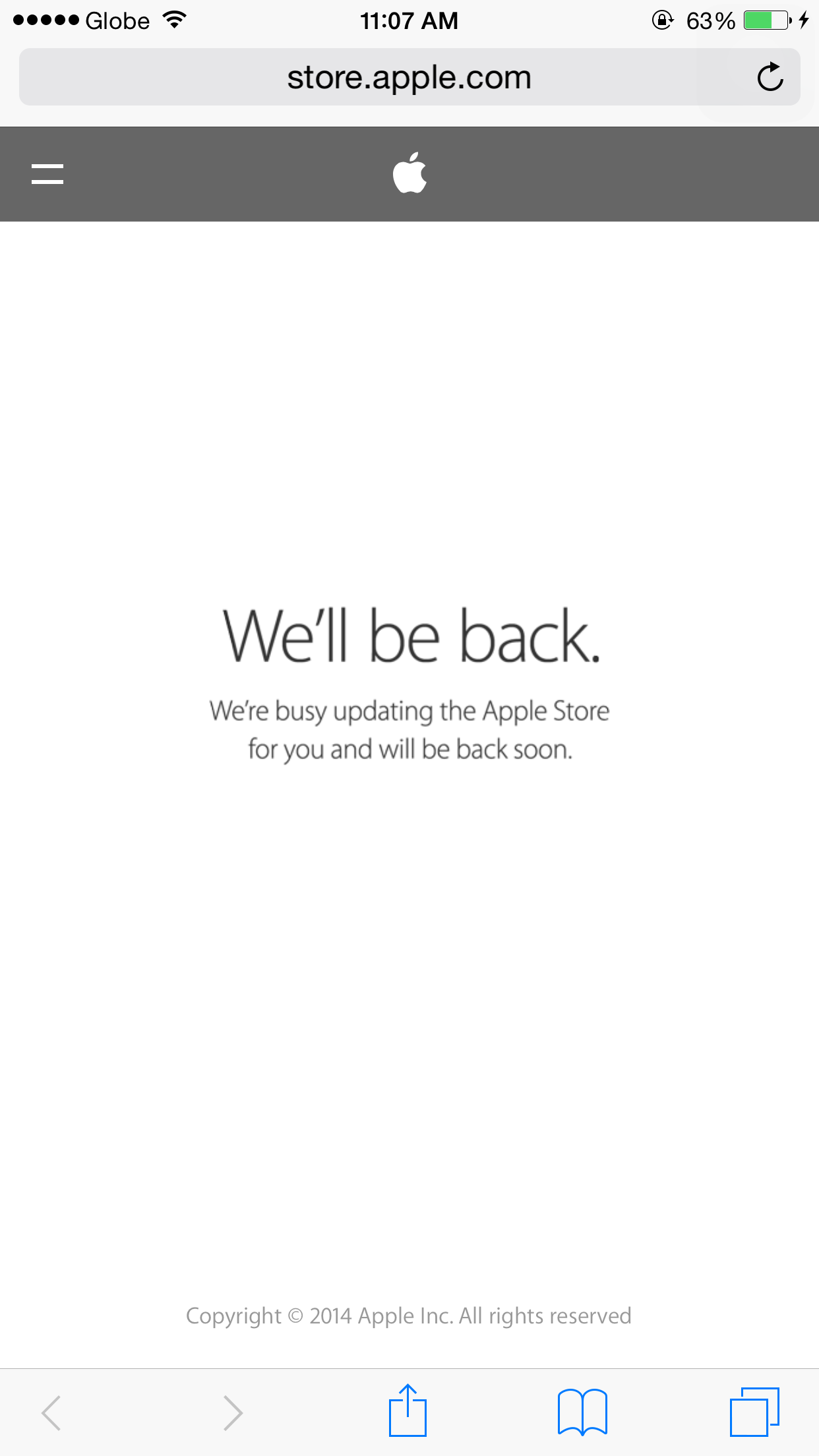 Apple suspends online store operation in Russia due to ruble fluctuations