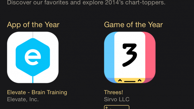 Apple announces the App Store's Best of 2014 for iPhone, iPad and Mac