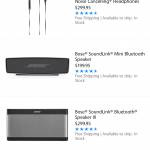 Apple starts selling Bose products again nearly two months after their removal