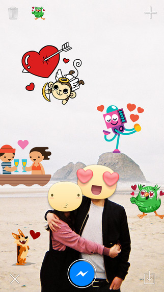 Getting sticky with it: Facebook's Stickered for Messenger out now on iOS