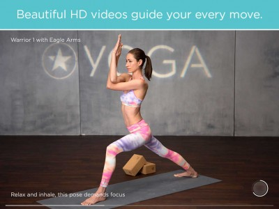 FitStar Yoga features yoga legend Tara Stiles as your guide to video-based workouts