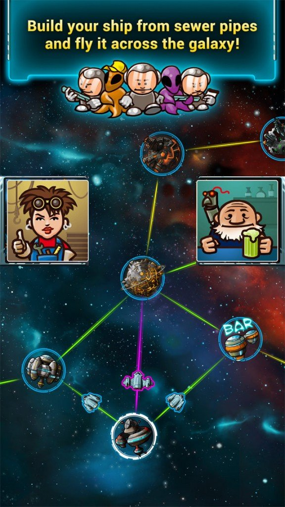 Award-winning board game Galaxy Trucker lands on iPhone in new Pocket edition