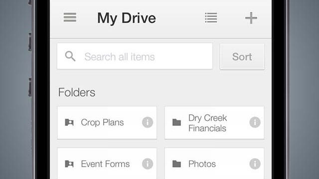 Google updates Drive, Authenticator, Photo Sphere Camera and Inbox apps for iOS