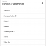 Apple devices among Google's top trending consumer electronics searches in 2014