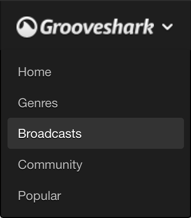 Grooveshark to launch 'first compliant app' for its Broadcasts service next month