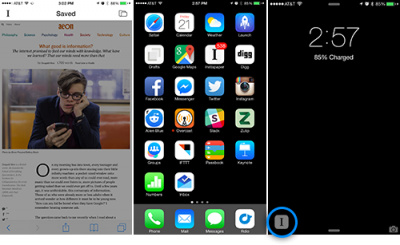 Instapaper updated with significantly improved share extension in iOS 8