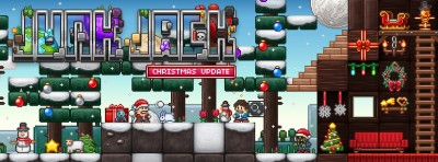 Pixbits presents huge Christmas update to popular 2-D sandbox game Junk Jack X
