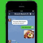 Line updated with new message searching feature and iPhone 6 support