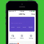 Line messaging app updated with support for Line Pay mobile payment service