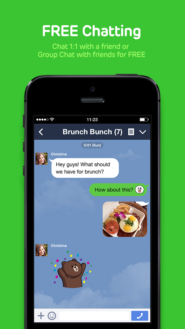 iphone messaging app line updated with new message searching feature and iphone 12035