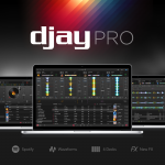The new djay Pro for Mac is the first professional DJ software with Spotify integration