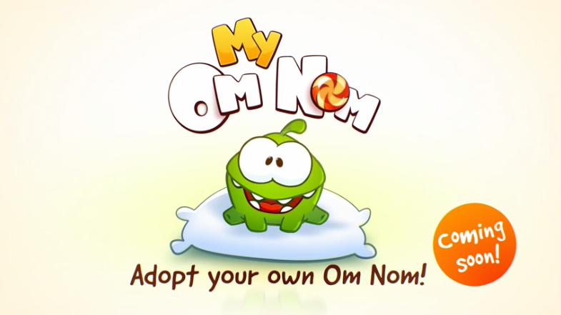 ZeptoLab to soon come out with virtual pet app starring Cut the Rope's Om Nom